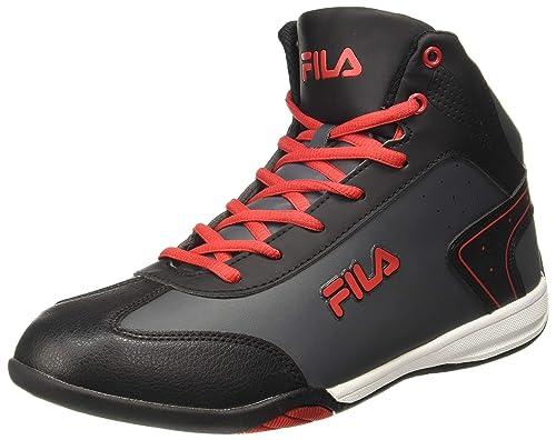 Fila Men's Black Rubber Sneakers (UK 11): Buy Online at Low ...