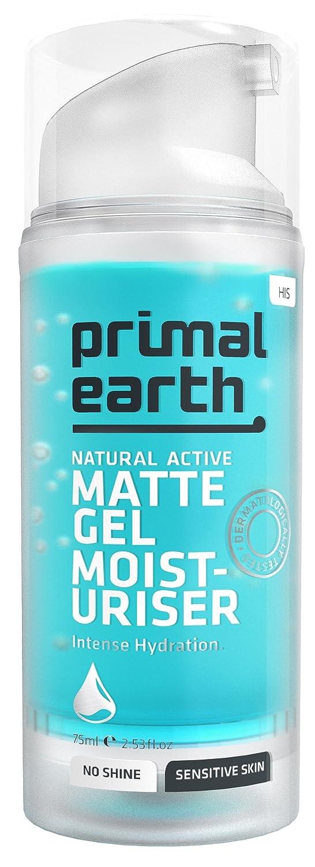 Primal Earth Matte Gel After-Shave Moisturiser, 75ml (2.5 oz) Mix Limited