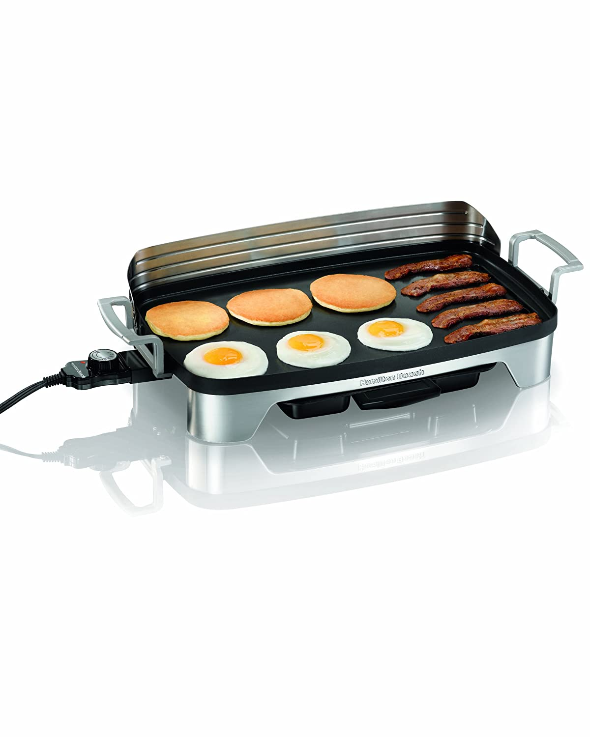 Hamilton Beach 38541 220 sq. in. Premiere Cookware Griddle Hamilton-Beach