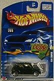 Hot Wheels 2002-200 Mini Cooper 1:64 Scale GREEN w/checkered top - Race Win Card