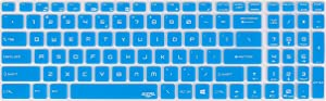 Leze - Keyboard Cover for MSI GS63 GF62 GE63VR GV62 GP63 GT63 GL63 WE63 WS63 GL72 GL72M GF72VR GE73VR GL73 GP73 WE73 GS73 GS73VR GT73 GT73VR GE75 GS75 Gaming Laptop - Blue