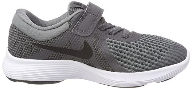 Nike Revolution 4 (PSV), Scarpe Running Bambino, Grigio (Dark Grey/Black-Cool Grey-Whit 005), 28.5 EU