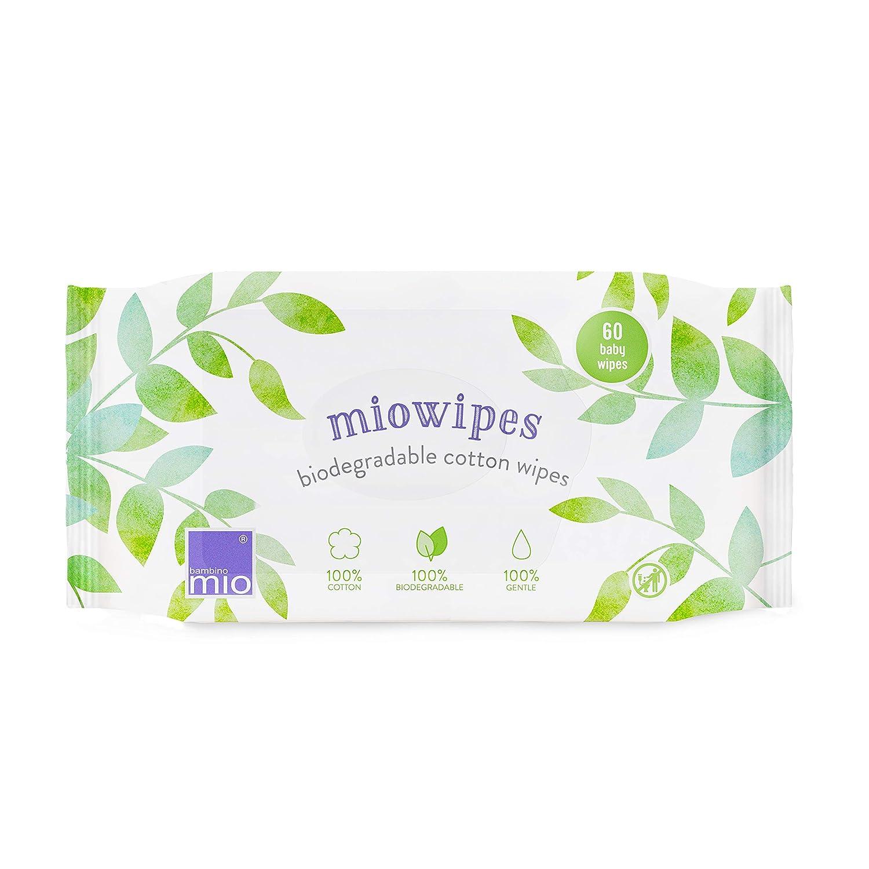 lingetttes b/éb/é naturelles miowipes pack de 60 Bambino Mio