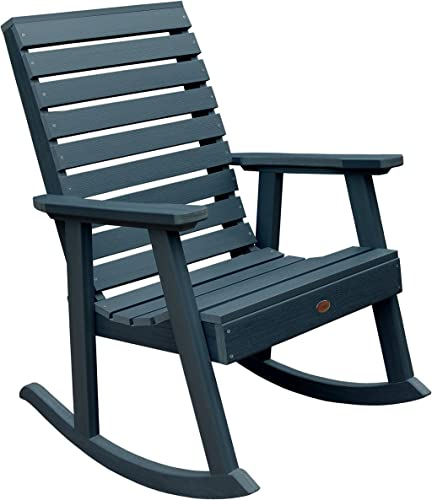 Highwood AD-RKCH2-NBE Weatherly Rocking Chair