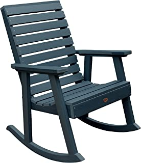 product image for Highwood AD-RKCH2-NBE Weatherly Rocking Chair, Nantucket Blue