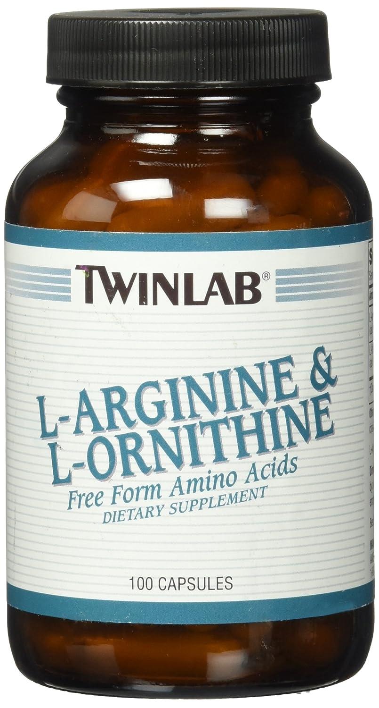Twinlab L Arginine and L-Ornithine 100 Capsules