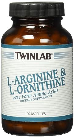 L-Arginine L-Ornithine 750mg Twinlab, Inc 100 Caps