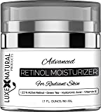 Luxe Natural Products Retinol Moisturizer For Face, 1.7 Fl Ounce