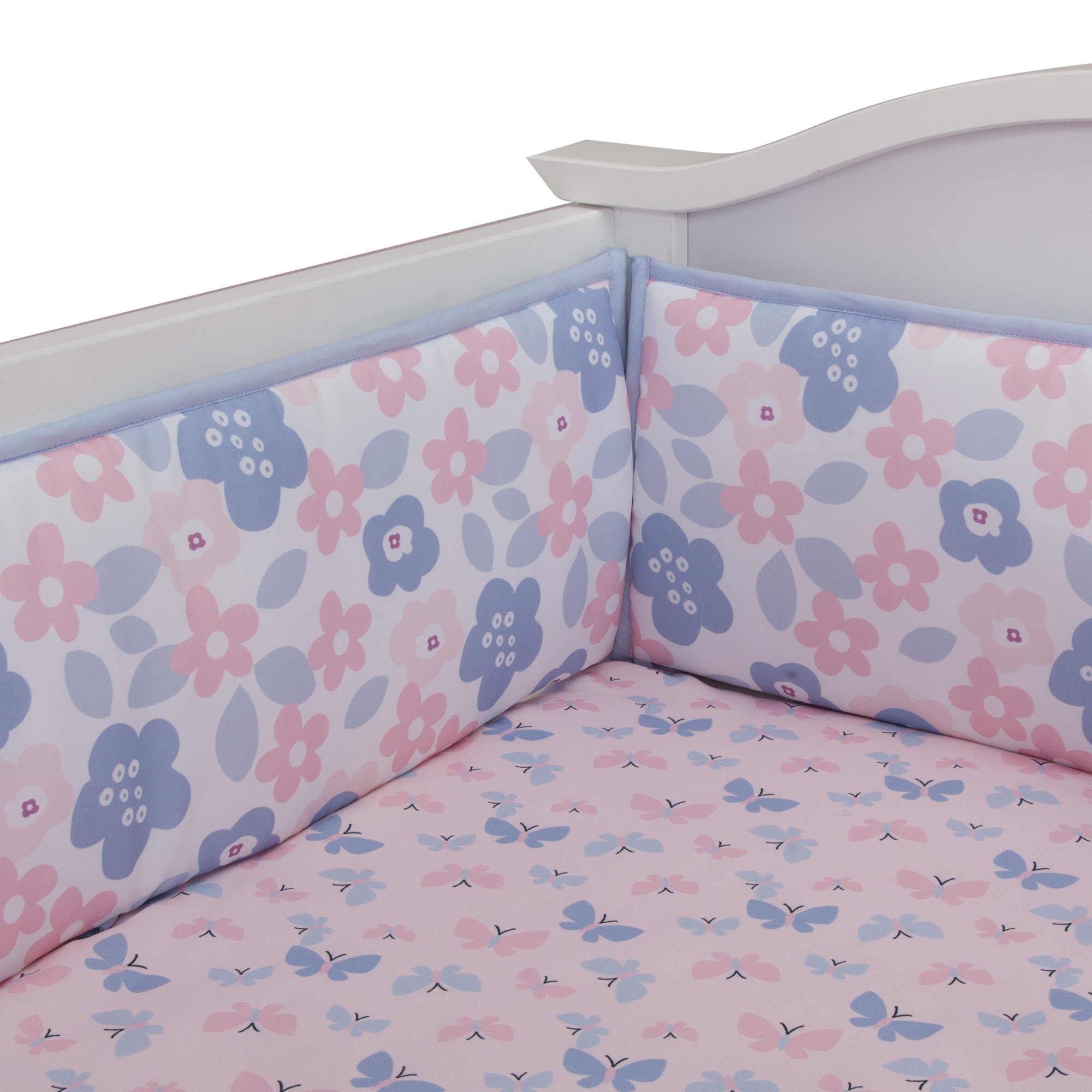 Bedtime Originals Butterfly Meadow Bumper