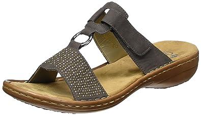 942c6629a583fc Rieker 60833 Women Mules, Sabots Femme: Amazon.fr: Chaussures et Sacs