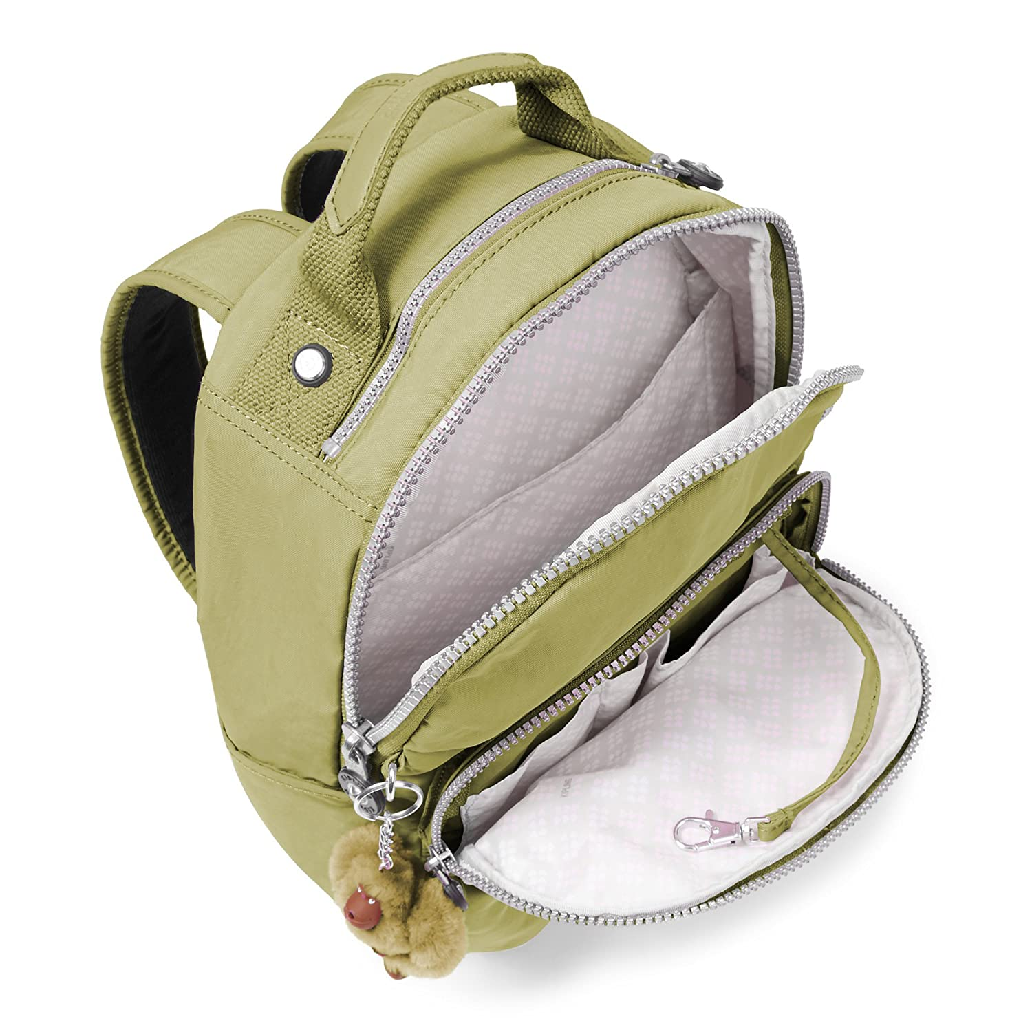 f5176e8a1145ee Kipling Women's Seoul Small Backpack One Size Pine Grove: Amazon.ca:  Clothing & Accessories