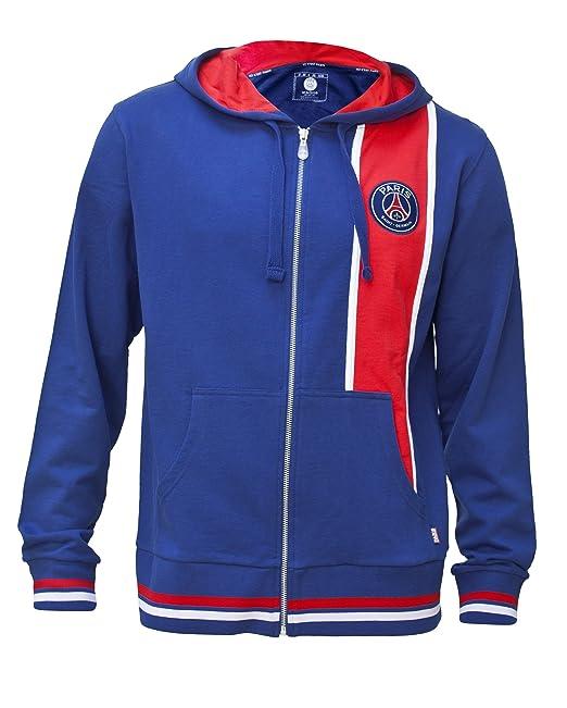 Chaqueta sudadera Shirt de cremallera con capucha Paris Saint Germain – fútbol Club Liga 1 –