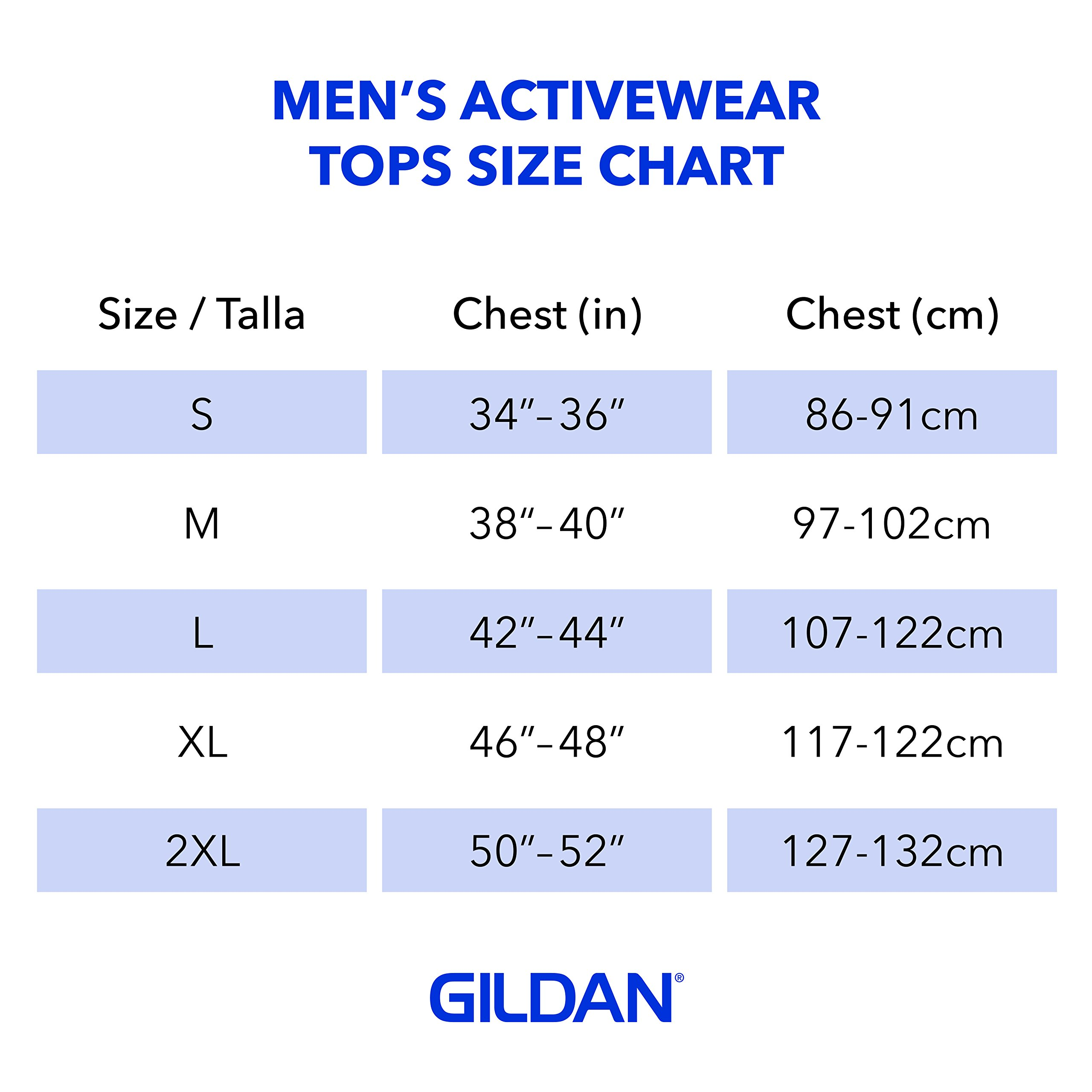 Gildan Men's Ultra Cotton Adult Long Sleeve T-Shirt, 2-Pack, White Large by Gildan (Image #3)