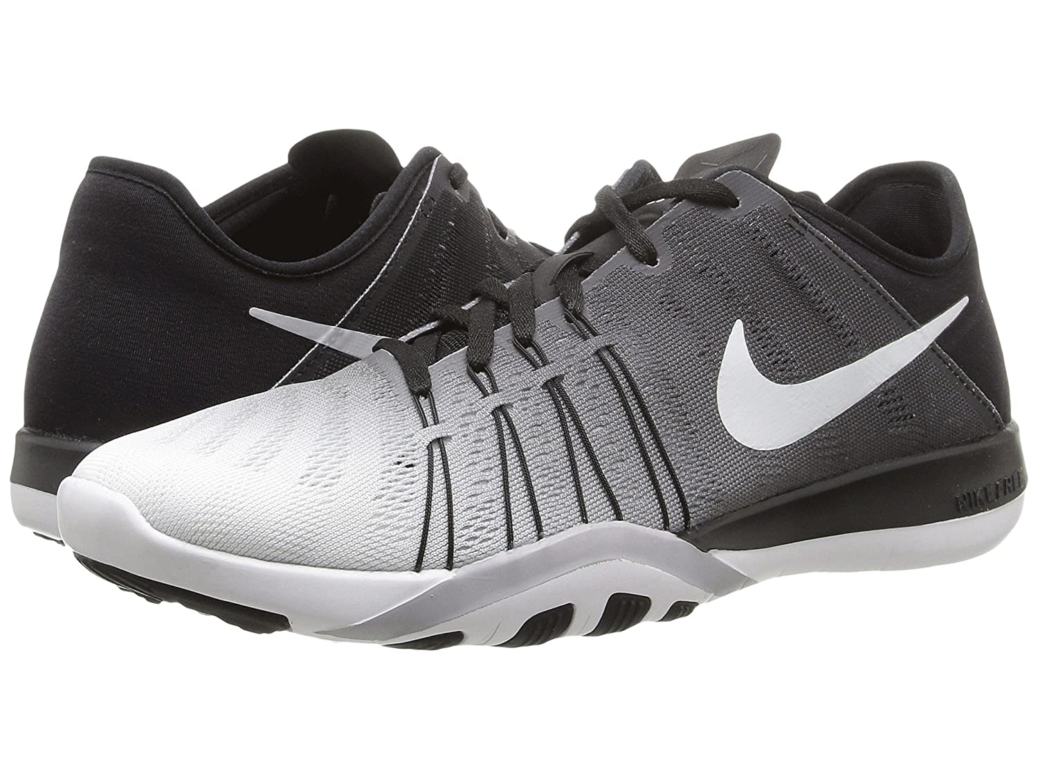 Womens Nike Free TR 6 Training Shoes B01DL10HIE 10 B(M) US|Black/Summit White/Wolf Grey
