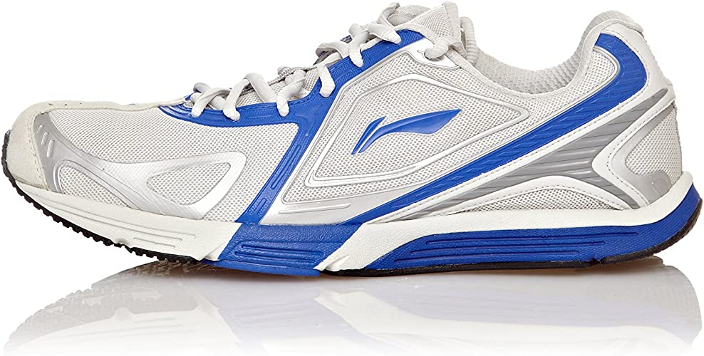 Li-Ning Zapatillas Maraton Gris/Azul EU 44 (US 10): Amazon.es ...