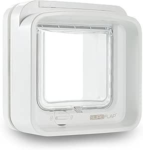 SureFlap Dual Scan Microchip Cat Flap, White