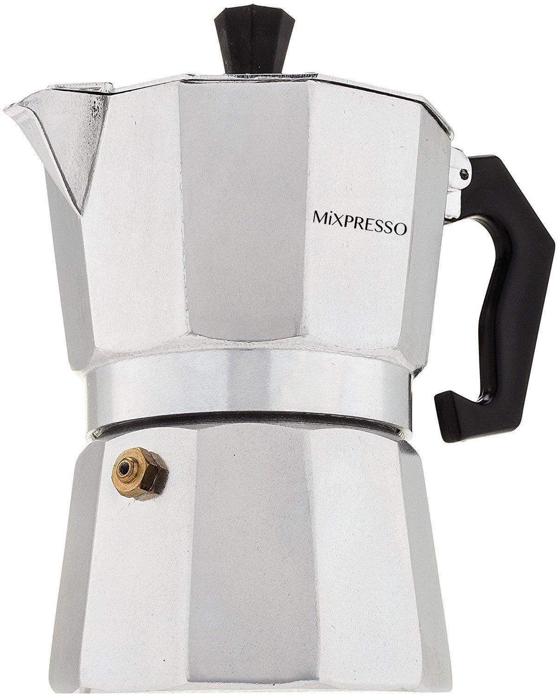 Moka Pot - Stovetop Espresso Maker - By Mixpresso Coffee (3 Cups) AX-AY-ABHI-117747