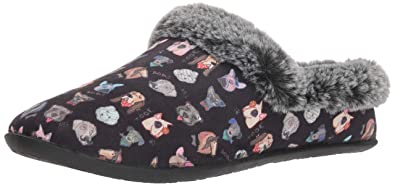 4d35167c14d10 Skechers BOBS Women's Beach Bonfire Nap. Dapper Dog Slipper Clog W Memory  Foam