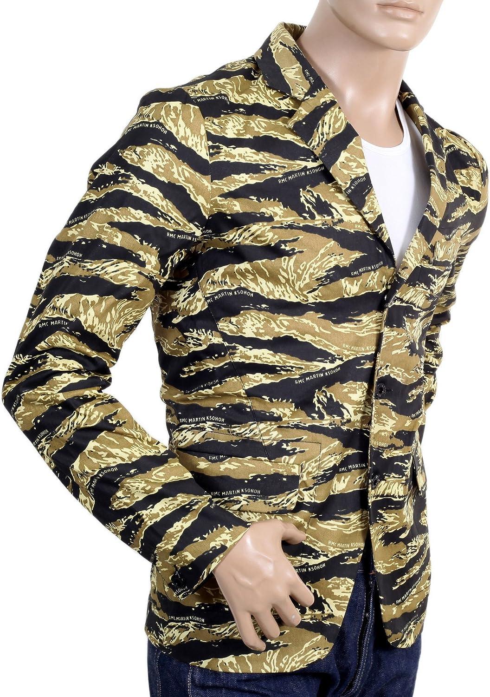 RMC Jeans Camouflage Blazer pour femme rmc1949 Multicolore