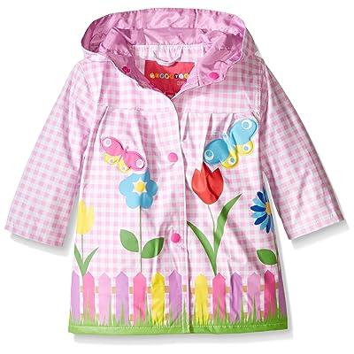 Wippette Baby Girls' Lovely Garden Rainwear