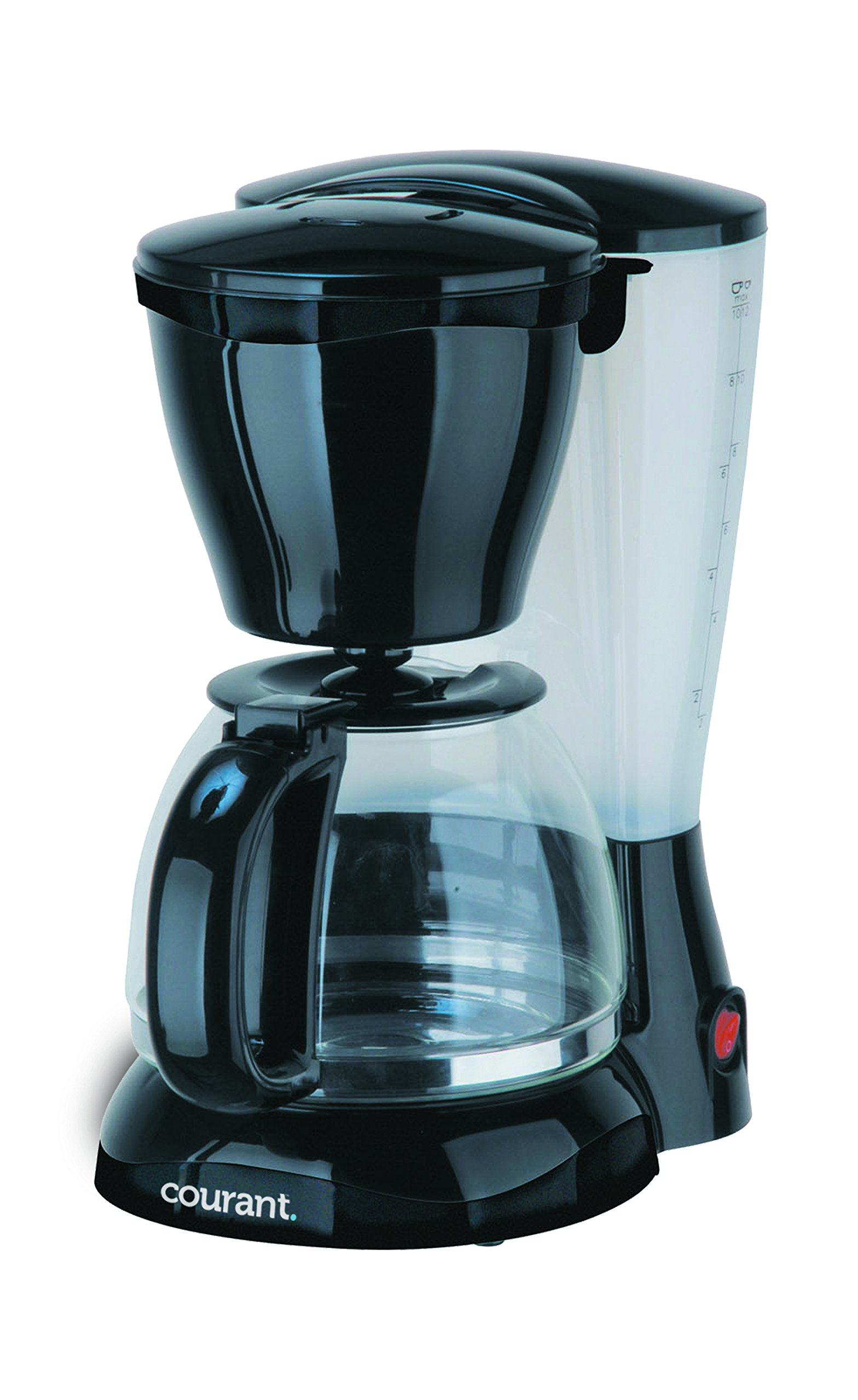 Courant CCM-815 8 Cup, Anti Drip, Coffee Maker, With Permanent filter & Spoon Black