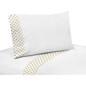 Amazon.com: Sweet Jojo Designs 4-Piece Gold and White