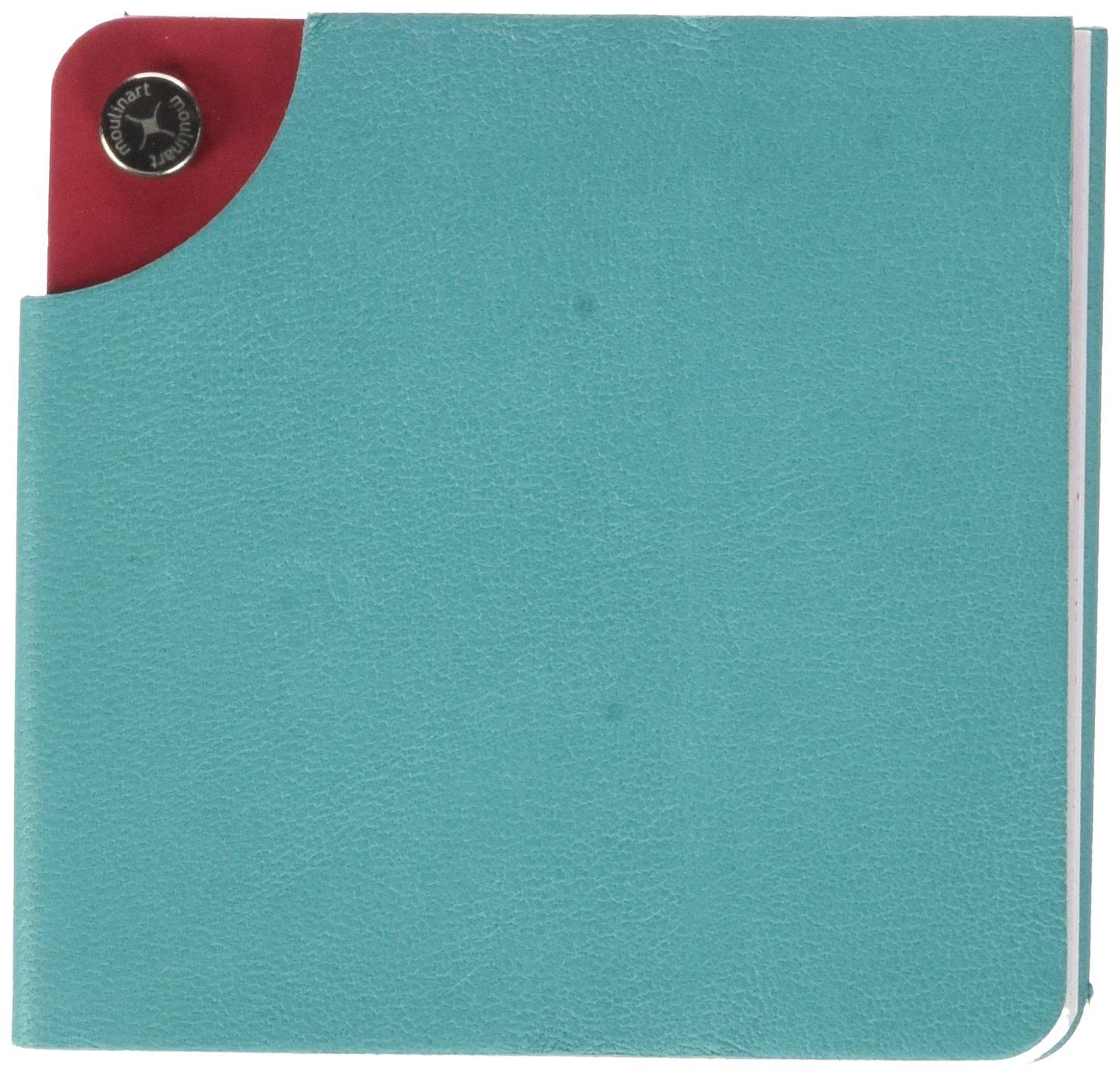 moulinart Estelle Pad 8.5x 8.5cm 8,5 x 8,5 cm Vert Lagon