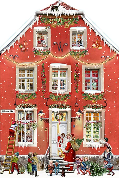 Coppenrath Advent Calendar Christmas Street Free-standing Fold-out Traditional