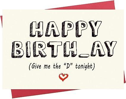 Amazon.com: Tarjeta de felicitación de cumpleaños para novio ...
