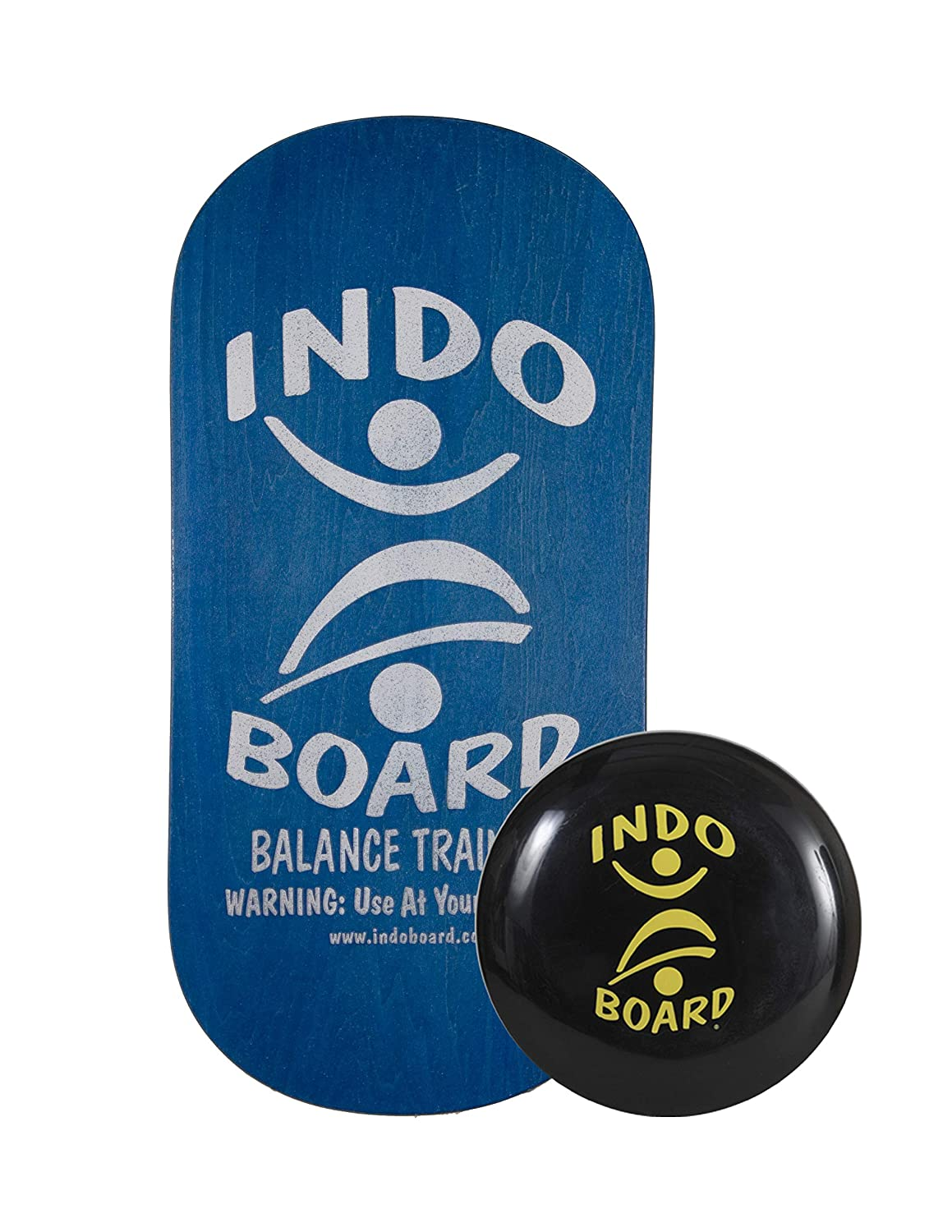 INDO BOARD Rocker Balance Board for Fitness, Physical Therapy or Use at A Standing Workstation. Comes with 33 X 15 Non-Slip Deck and 14 Cushion in 5 Colors