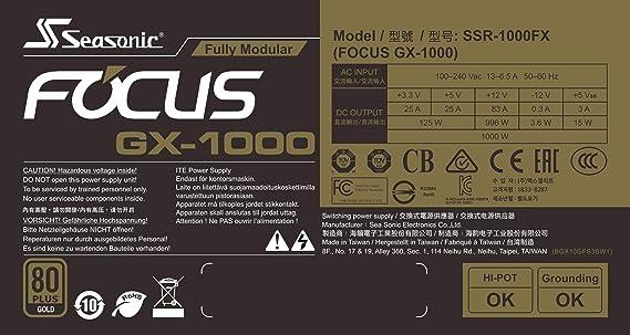 Seasonic FOCUS GX-1000//1000 Watt