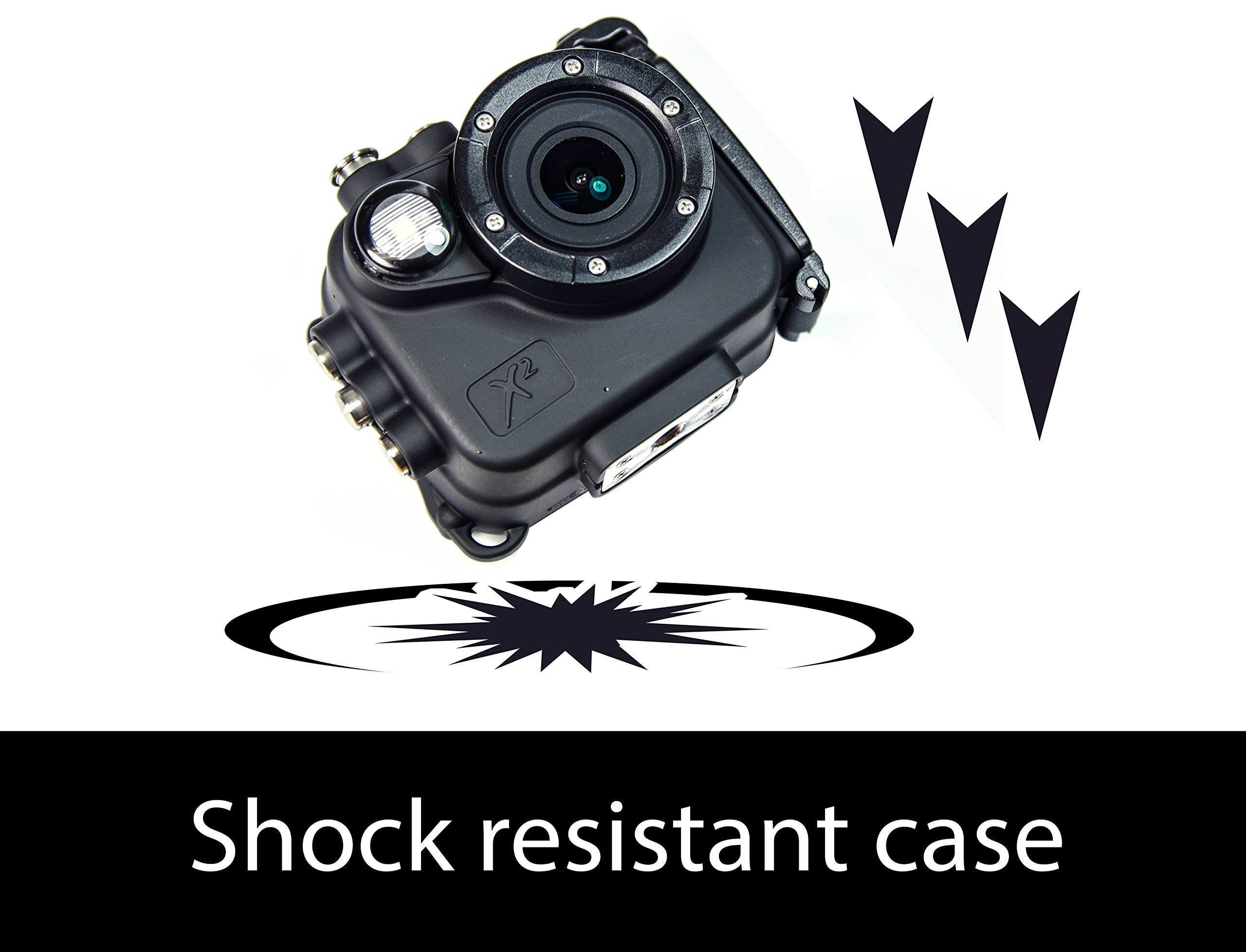 Intova X2 Waterproof 16MP Action Camera with Built-in 150-Lumen Light and WiFi by Intova (Image #3)