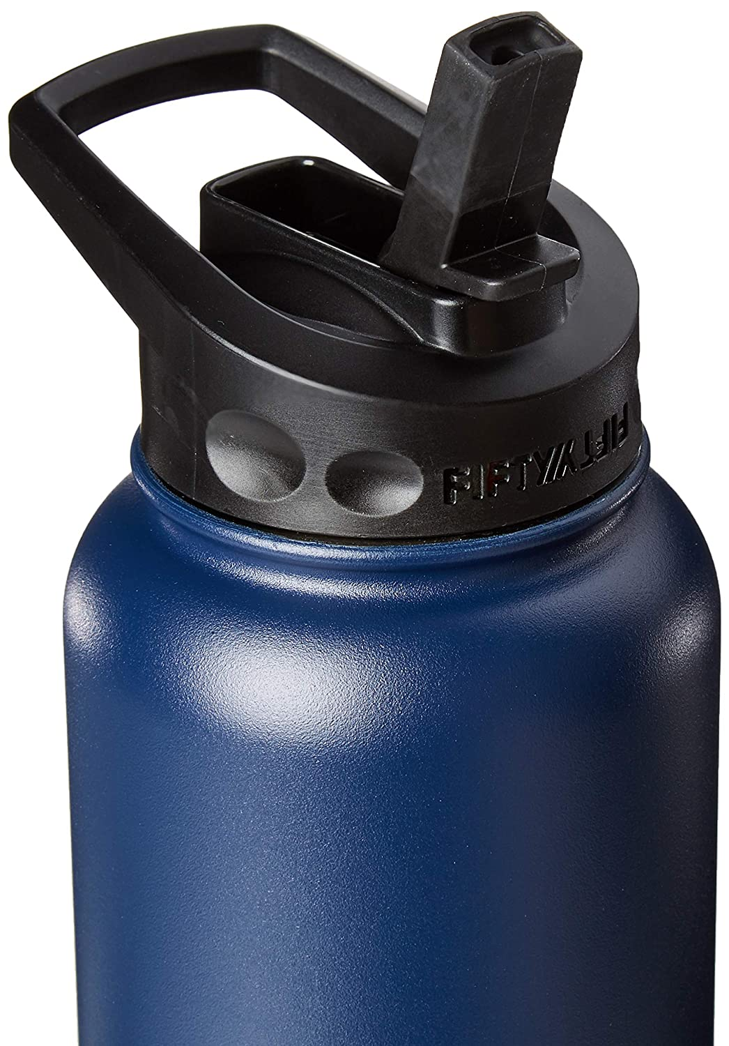Double Wall Vacuum Insulated Sport Water Bottle Fifty//Fifty 40oz