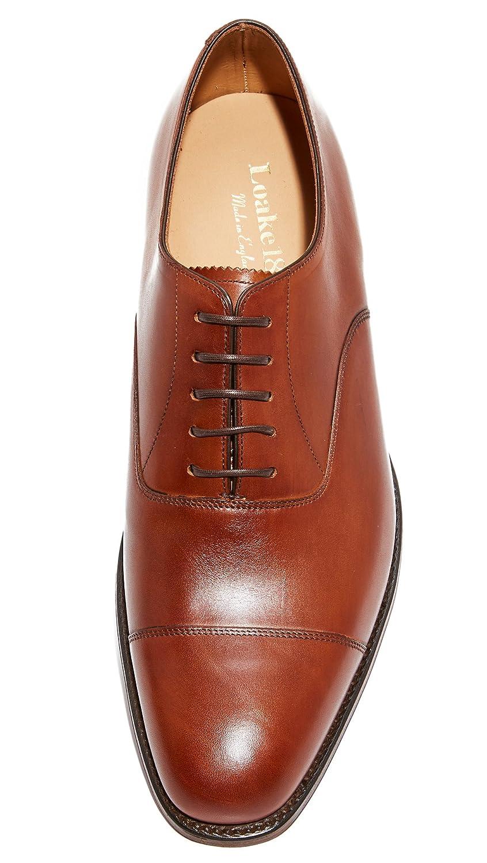 7c53325c5e6 Loake Aldwych Mens Shoe - Mahogany Calf - 7.5: Amazon.co.uk: Shoes & Bags
