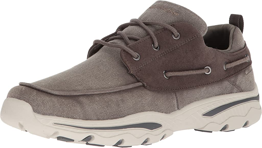 Details about MENS SKECHERS CLASSIC FIT MEMORY FOAM SLIP ON BOAT WALKING TRAINERS SHOES SIZE