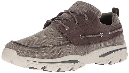 Skechers Creston-Vosen, Zapatillas para Hombre, Beige (Taupe), 41 EU
