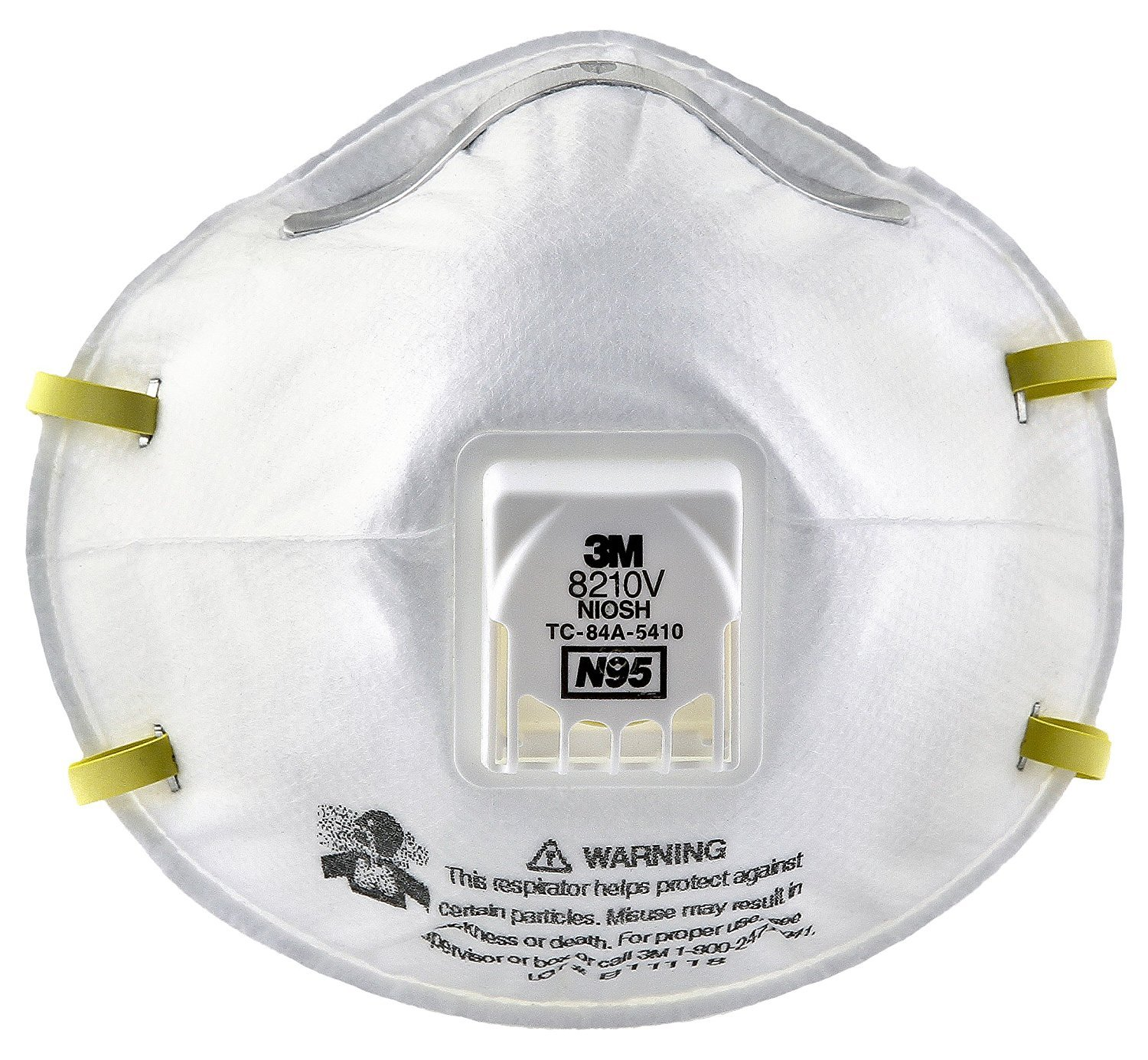 Particulate 3m N95 Protection Respirator 8210v Respiratory