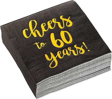 Amazon.com: Paquete de 50 servilletas de cóctel 5 x 5 lámina ...