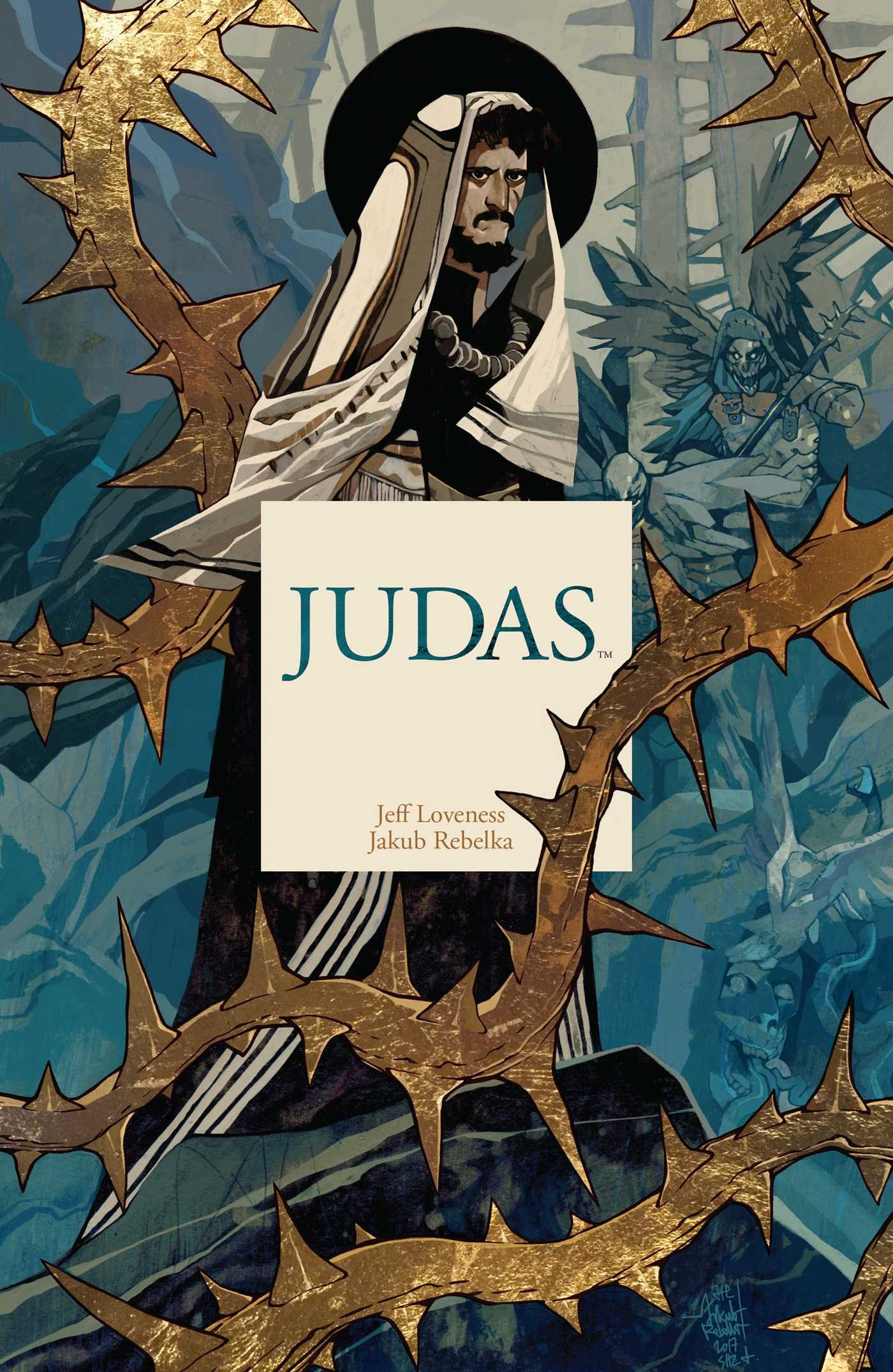 judas jeff loveness jakub rebelka 9781684152216 amazon com books