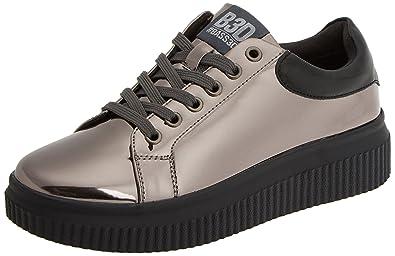 XTI 047507, Zapatillas para Mujer, Plateado (Plomo), 36 EU