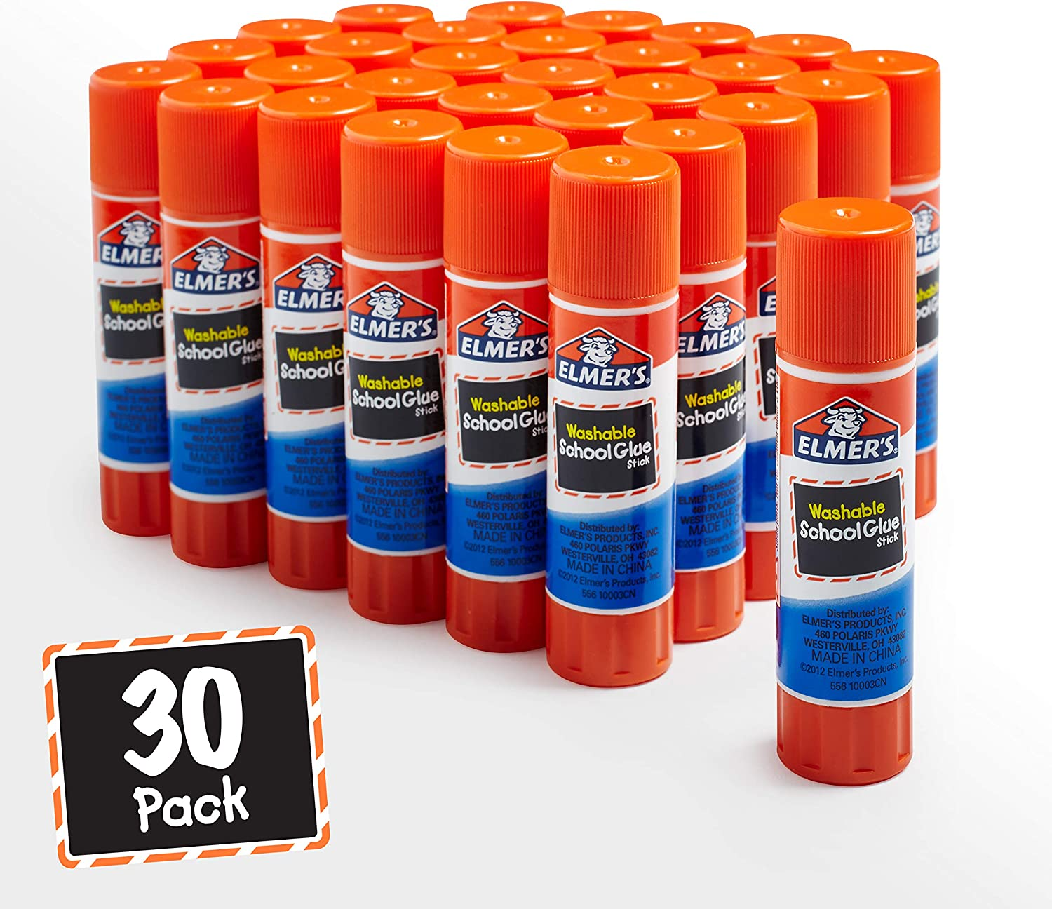 Elmer's All Purpose School Glue Sticks, Washable, 7 Gram, 30 Count : Office Products