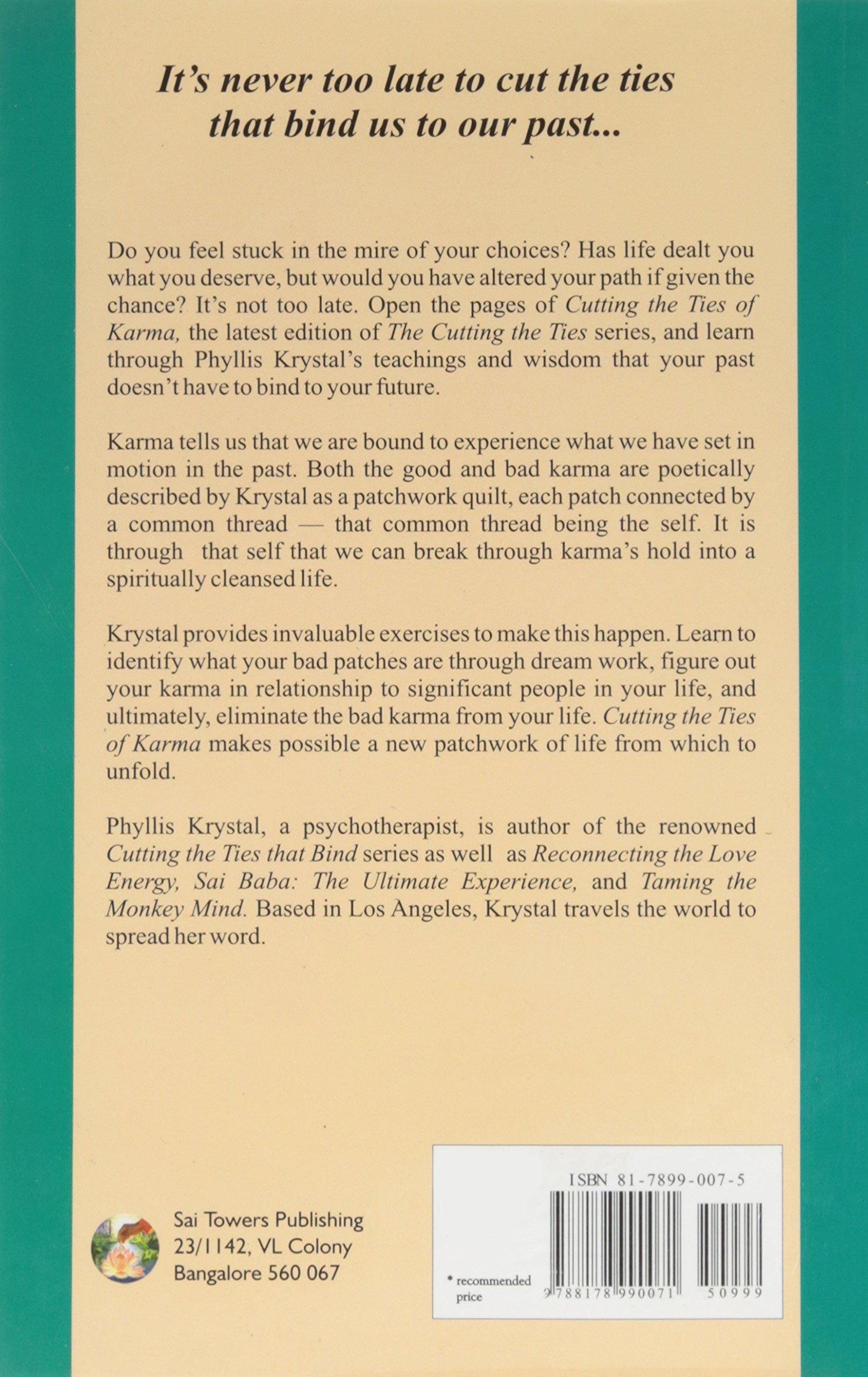 Cutting the ties of karma amazon phyllis krystal books fandeluxe Gallery