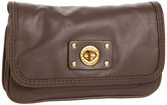 de76d89e874 Marc by Marc Jacobs Totally Turnlock Jane On Chain Convertible Clutch,Taupe,one  size