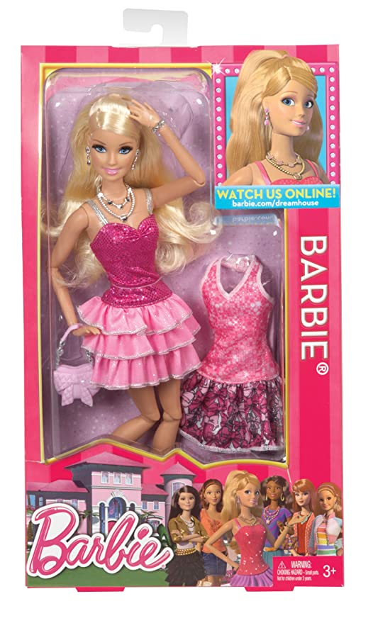 Amazoncom Barbie Life In The Dreamhouse Barbie Doll Discontinued