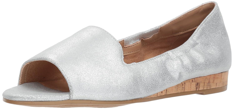 Aerosoles Women's Tidbit Ballet Flat B076BT31LN 7 B(M) US|Silver Leather
