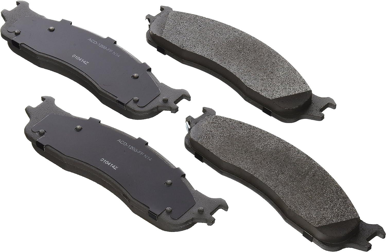 ACDelco 14D965MH Advantage Semi-Metallic Front Disc Brake Pad Set