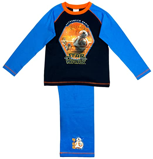 Niño Star Wars Astromech Androide BB-8 The Force Despierta Pijama tallas desde 4 a