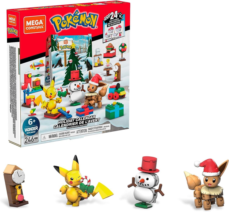 Mega Construx Pokemon calendrier de l'avent, 24 jours de