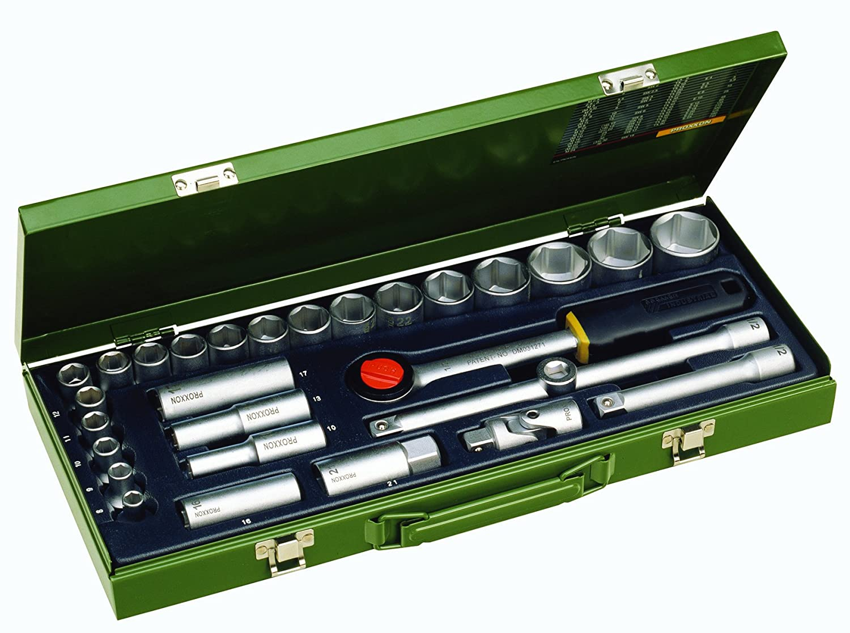 Proxxon 23000 1/2-Inch 29-Piece Drive Socket Set