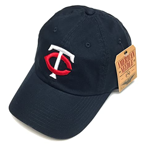 Image Unavailable. Image not available for. Color  American Needle MLB  Minnesota Twins Navy Team BallPark Adjustable Cap 042c9255919